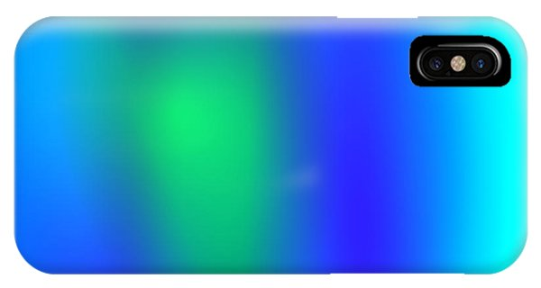 Blue Green Abstract IPhone Case