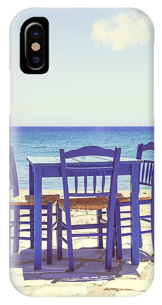 Beach iPhone Case - Blue by Joana Kruse