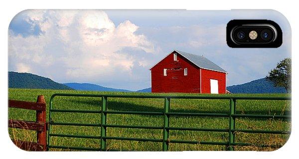 Blue Ridge Barn IPhone Case