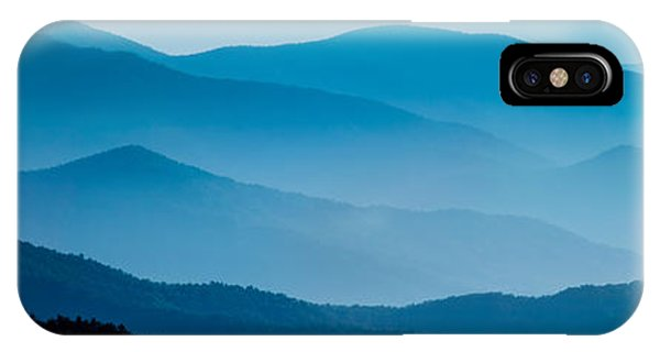 Blue Ridges Panoramic IPhone Case