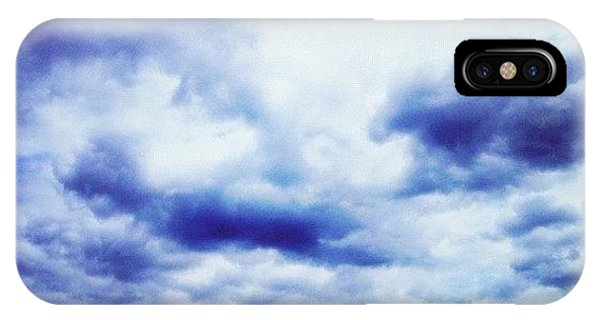 Cause iPhone Case - Blue Sky by Isabel Poulin