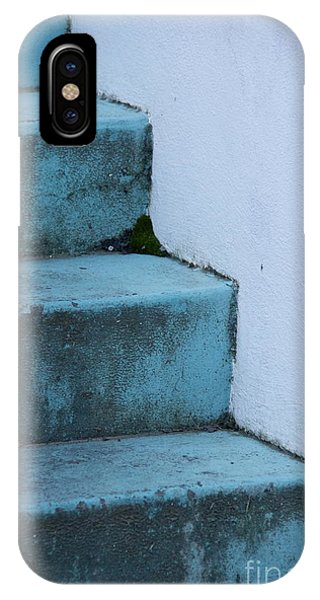 Blue Stairs IPhone Case