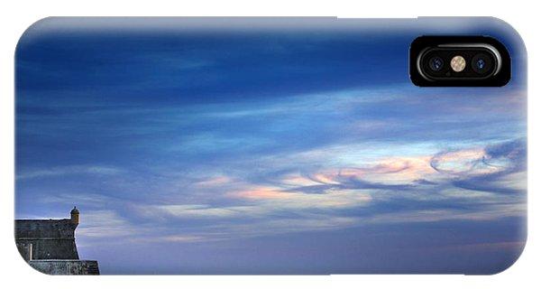 Blue Sky iPhone Case - Blue Storm by Carlos Caetano
