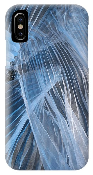Blue Texture IPhone Case
