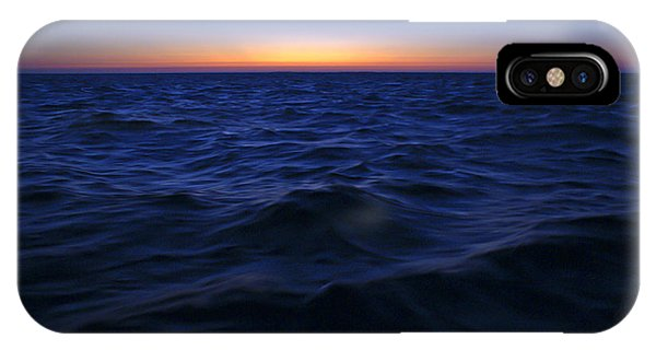 Bluewater Sunset IPhone Case