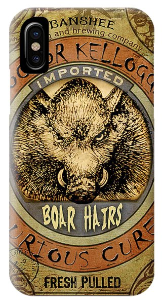Boar Hairs  IPhone Case