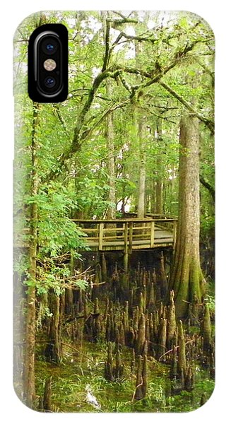 Boardwalk Manatee Springs IPhone Case