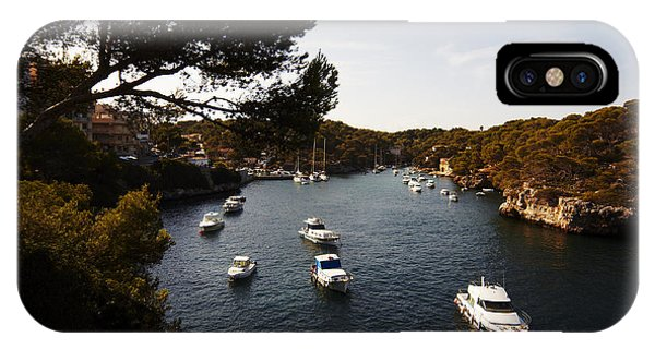 Boats In Cala Figuera IPhone Case