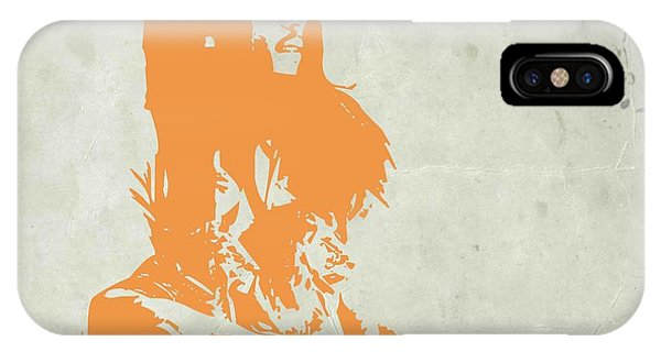 See iPhone Case - Bob Marley Yellow 4 by Naxart Studio