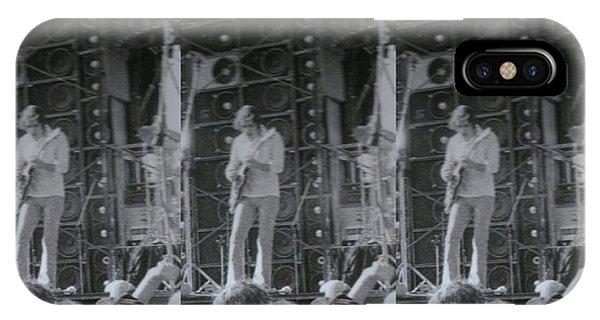 Bob Weir Grateful Dead 74 Dsm Ia IPhone Case