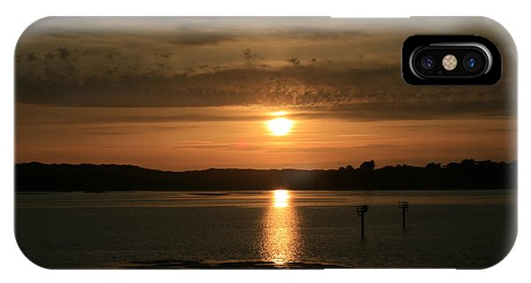 Bodega Bay Sunset II IPhone Case
