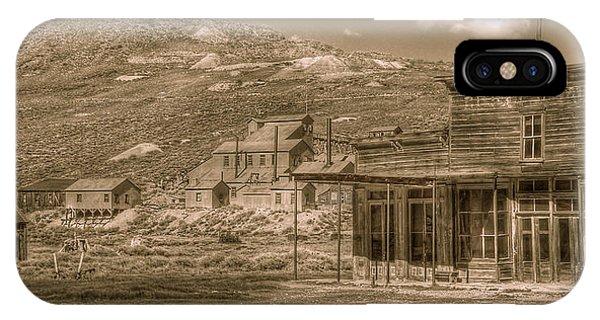 Bodie California Ghost Town IPhone Case