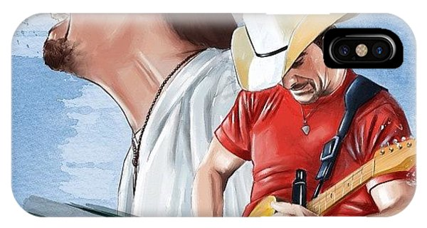 Supply iPhone Case - Brad Paisley by Tony Santiago
