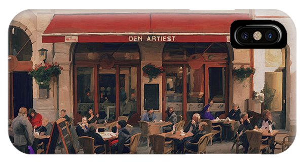 Brasserie Den Artiest In Leuven IPhone Case
