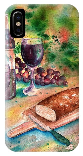 Bread And Wine IPhone Case