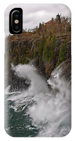 Breakers At Split Rock IPhone Case