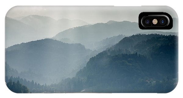 Breaking Through The Mist IPhone Case