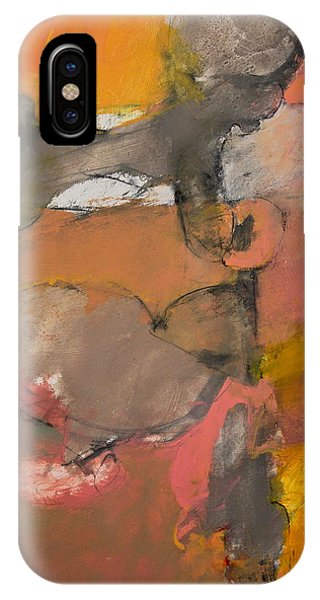 IPhone Case featuring the painting Breastbone by Cliff Spohn