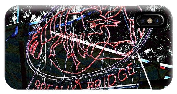 Breaux Bridge Crawfish Festival IPhone Case