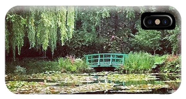 Impressionism iPhone Case - Bridge & Pond by Marce HH