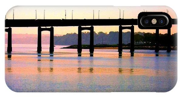Bridge At Sunset IPhone Case