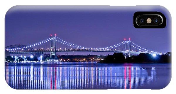 Tri-borough Bridge In Nyc IPhone Case