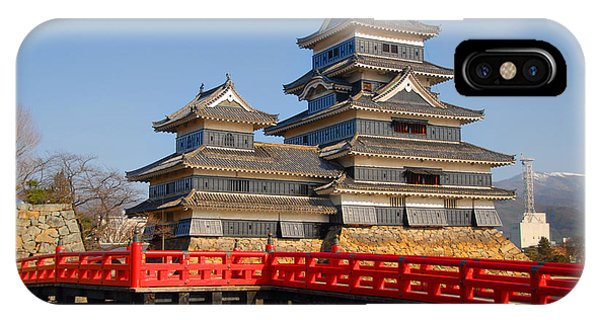 Bridge To The Matsumoro Castle IPhone Case
