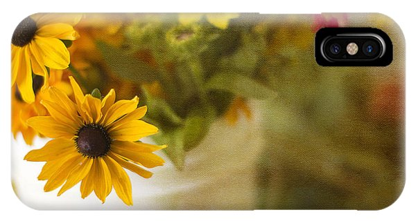 Bright And Sunny Phone Case by Rebecca Cozart