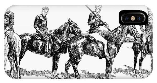 1877 iPhone Case - Brighton Polo Club, 1877 by Granger
