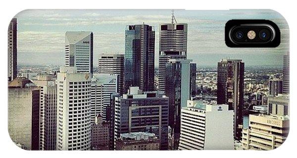 Professional iPhone Case - Brisbane Skyline 2 by Darren Frankish
