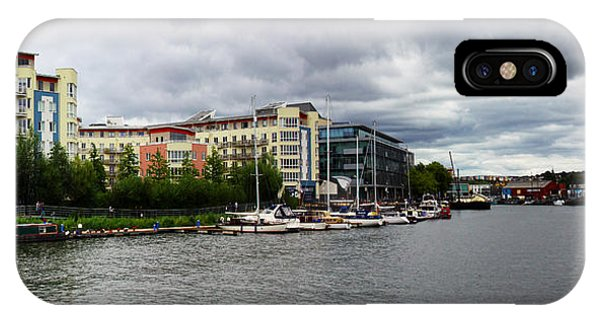 Bristol Panoramic Photograph IPhone Case