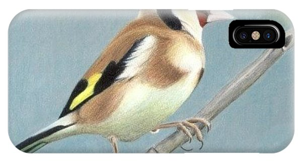 British Goldfinch IPhone Case