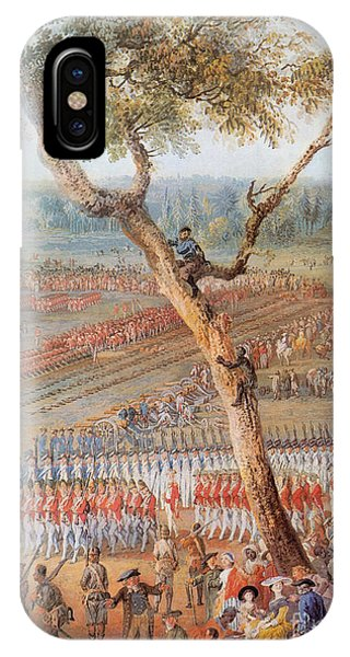 British Troops Surrender At Yorktown IPhone Case