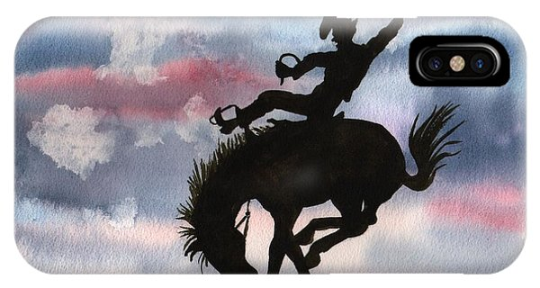 Bronco Busting IPhone Case