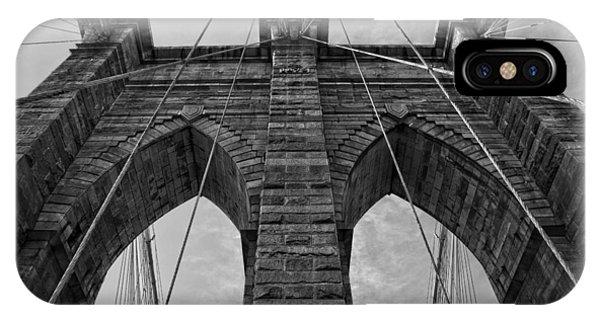 Brooklyn Bridge Bw IPhone Case