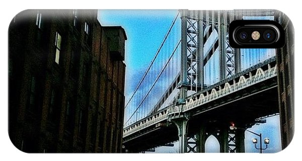 Skylines iPhone Case - #brooklyn #ny #newyork #newyorker by Joel Lopez