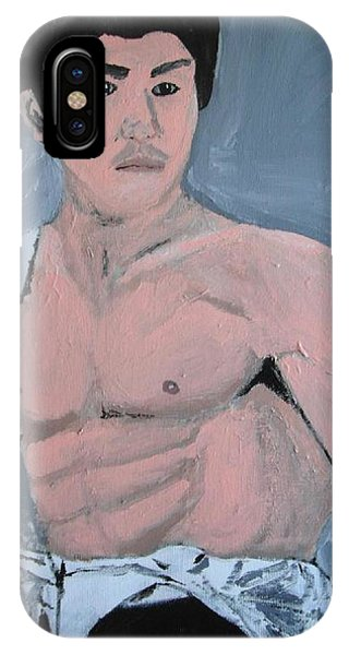 Bruce Lee Phone Case by Jeannie Atwater Jordan Allen