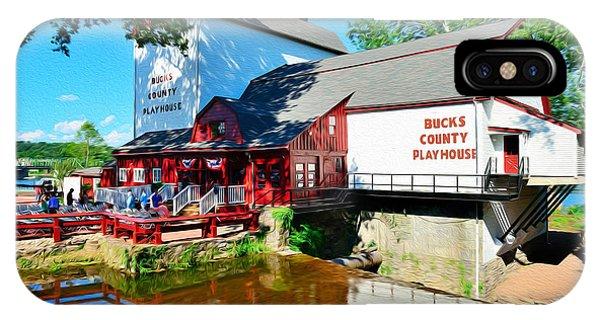 Bucks County Playhouse IPhone Case
