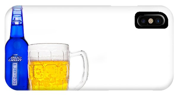 Bud Light Platinum IPhone Case