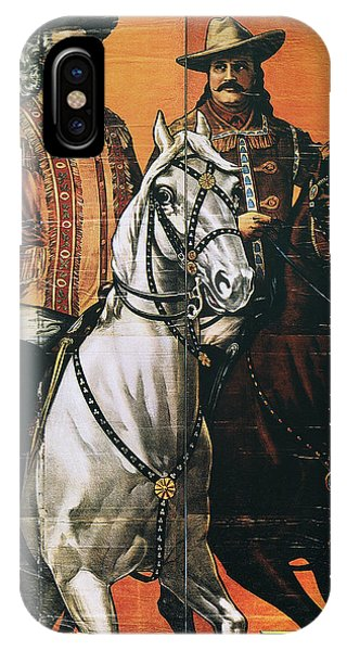 Lillie iPhone Case - Buffalo Bill: Poster, 1910 by Granger
