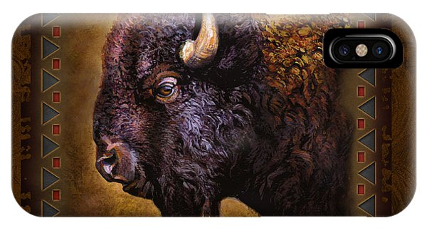 Cabin iPhone Case - Buffalo Lodge by JQ Licensing