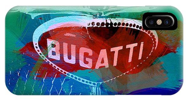 Bugatti Badge IPhone Case