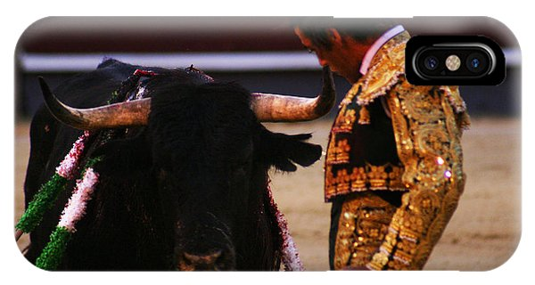 Bullfight Madrid IPhone Case