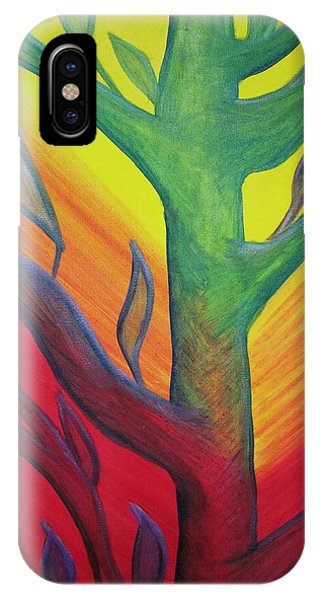 Bumble Bee In A Tree IPhone Case