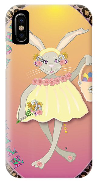Bunnie Girls- Flowah Chile 1 Of 4  IPhone Case
