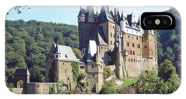 Burg Eltz In Profile IPhone Case
