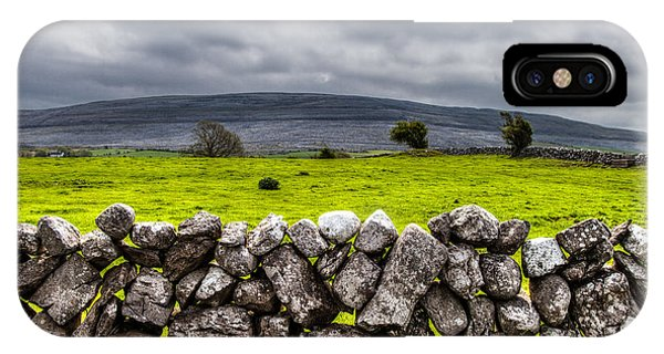 Burren Stones IPhone Case
