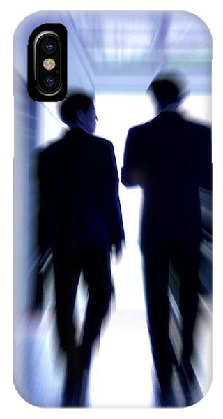 Businessmen Phone Case by Pasieka