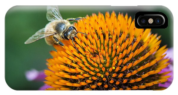 Busy Bee Phone Case by Jen Morrison