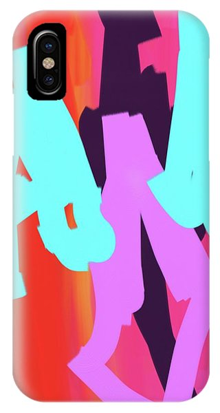Butterfly Man IPhone Case